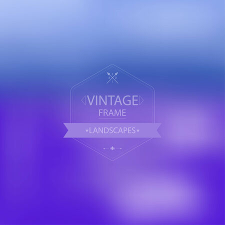 unfocused: Abstract background with unfocused and fashionable vintage frame for your text and images. for announcements, presentations, ads, title