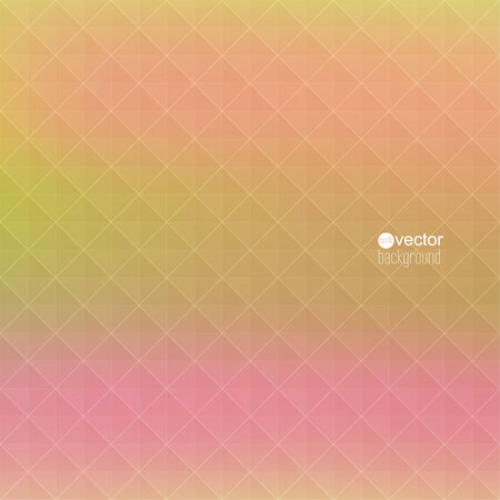classified ads: Abstract vector background with triangles and pattern of geometric shapes. for advertising, classified ads, layouts, web, internet, website, cover, booklet, magazine, banner. yellow, pink Illustration