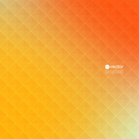 rigorous: Abstract vector background with triangles and pattern of geometric shapes. for advertising, classified ads, layouts, web, internet, website, cover, booklet, magazine, banner. yellow, red, orange Illustration