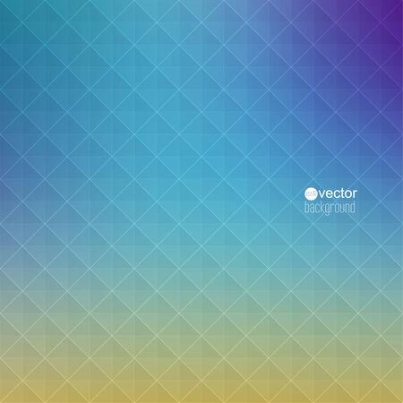 verde y morado: Vector de fondo abstracto con tri�ngulos y patr�n de formas geom�tricas. para publicidad, anuncios, presentaciones, web, Internet, Web site, cubierta, folleto, revista, bandera. verde, p�rpura, amarillo, azul Vectores