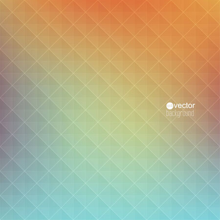 classified ads: Abstract vector background with triangles and pattern of geometric shapes. for advertising, classified ads, layouts, web, internet, website, cover, booklet, magazine, banner. green, yellow, pink, orange Illustration