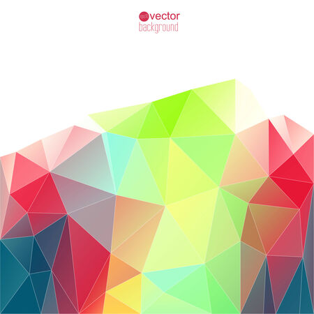 rigorous: Abstract vector background with triangles and polygon mesh. For websites, internet, paper stickers, labels, background for mobile phone template for signage, cover