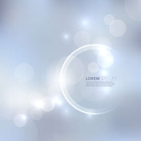 blurred lights: Abstract background with light and bright spots. For cards, invitations, greetings for the holidays, christmas, joy Illustration