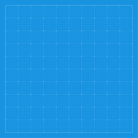 drawing paper: Paper blueprint background. Drawing paper for architectural, engineering design work. vector