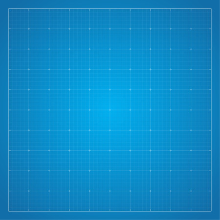 grid pattern: Paper blueprint background. Drawing paper for architectural, engineering design work. vector