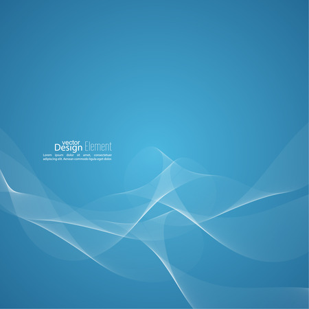 cyberspace: Techno vector abstract background with soft lines. Cyberspace. Template for cover, business reports, layout, poster, web design, websites.
