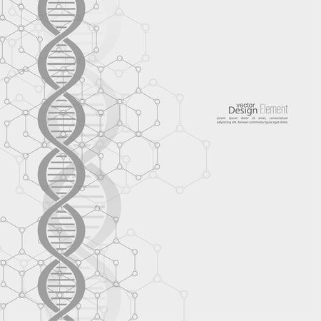 structure?: Resumen de fondo con estructura de cadena de ADN mol�cula. compuestos gen�ticos y qu�micos