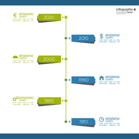 earnings: Timeline Infografik auf unscharfen Hintergrund mit Pfeilen und Zeigern. F�r Berichte, Statistiken, Ergebnis, ohne, Vertrieb, Entwicklung, Ranking