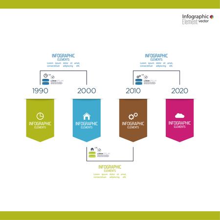 earnings: Timeline Infografik mit Pfeilen und Zeigern. F�r Berichte, Statistiken, Ergebnis, ohne, Vertrieb, Entwicklung, Ranking