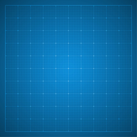 Paper blueprint background. Drawing paper for architectural, engineering design work. vector