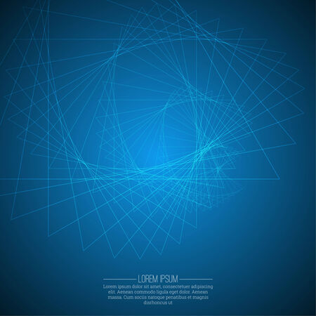 fibonacci: Abstract background with glowing spiral. For web design, website, booklet cover.