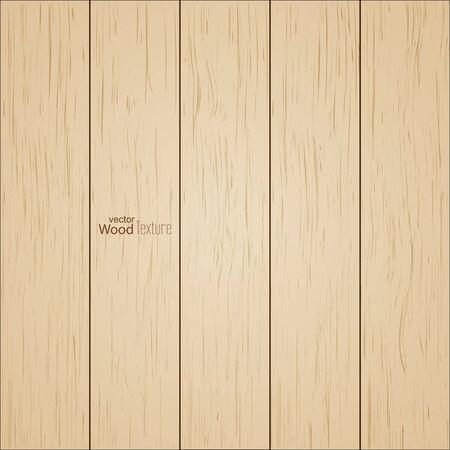 wood planks: Background of wooden boards, striped fiber textured.  Illustration