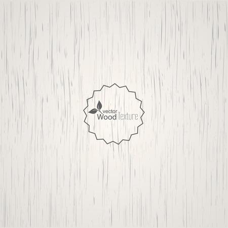 ツリーの線維性構造と白い木製背景パネル。