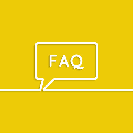 Abstract background with Speech Bubbles symbol. Chat icon. Concept showing conversation and discussion, question and answer. faq