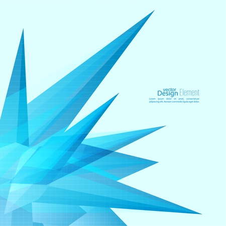 sapphire: Abstract background with glossy blue crystals. triangles, mosaic, sharp peaks. For cover book, brochure, flyer, poster, magazine, cd cover design, t-shirt, ad, template annual report, mobile app. futuristic design