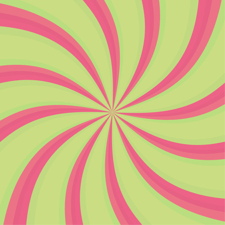 disorient: Hypnosis Spiral. Concept for hypnosis, unconscious, chaos, vortex. Candy cane sweet spiral abstract background