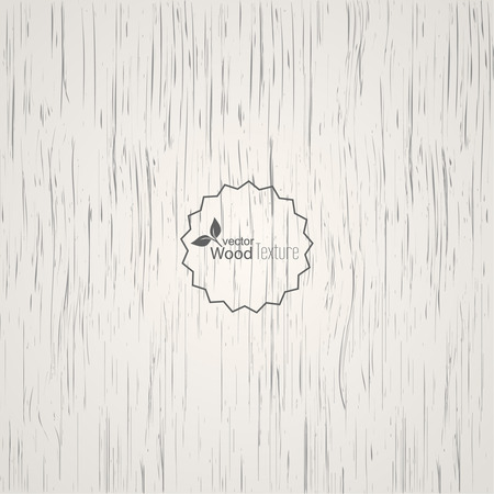 white wood: White wood background. Panel with a fibrous structure of the tree. Wooden texture. Vector Illustration