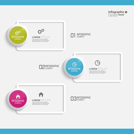 sjabloon: Vergelijkende grafiek met sjablonen voor presentatie, informatieve vormen. Optie. Infographic voor het jaarverslag, statistieken, Infochart, reclame, web knop, uitleg. Proces stap voor stap. analyseren