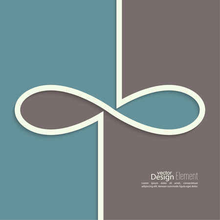eternity: Abstract background with the sign of infinity. emblem endless. The concept of eternity.  For cover book, brochure, flyer, poster, magazine, website, app mobile, annual report