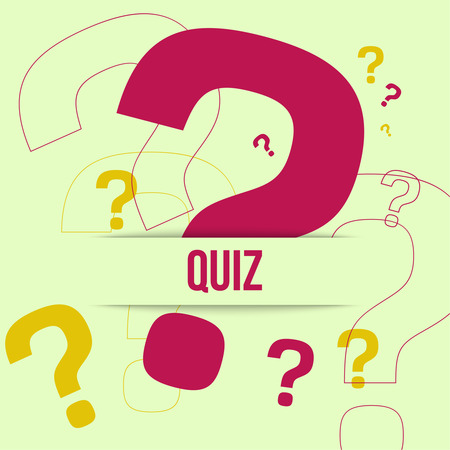 Question mark icon. Help symbol. FAQ sign on a yellow background. Quiz. vector