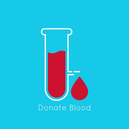 donating: Symbol of donating blood