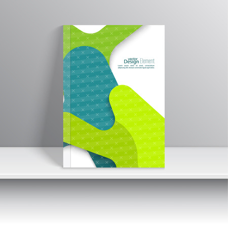 covering: Magazine Cover with stripes, triangles and texture. For book, brochure, flyer, poster, booklet, leaflet, cd cover design, postcard, business card, annual report. vector illustration. abstract background Illustration