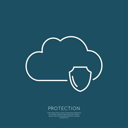 protected database: Cloud Security Concept. Full protection of information and databases on a remote service. minimal. Outline.
