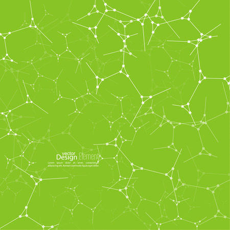 photosynthesis: Abstract background with DNA strand molecule structure. genetic and chemical compounds