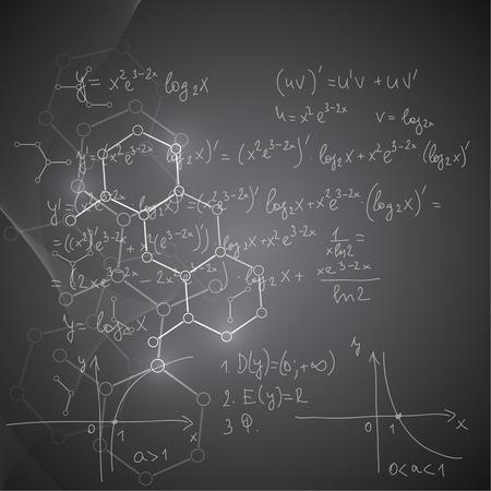 integral: Fondo abstracto con estructura cadena de ADN mol�cula. compuestos gen�ticos y qu�micos. Gradiente de fondo borroso.