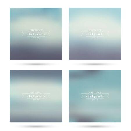 verde y morado: Conjunto de vectores de fondos abstractos coloridos borrosa. Para aplicaciones m�viles, de libro, folleto, fondo, cartel, sitios web, informes anuales. azul, verde, morado, turquesa