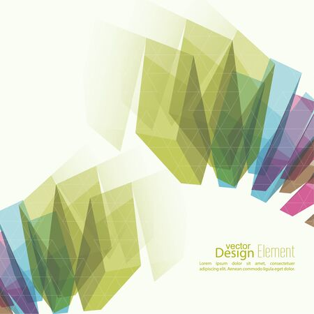 cd cover: Abstract background with colored crystals, trellis structure. For cover book, brochure, flyer, poster, magazine, booklet, leaflet, cd cover design,  mobile app, annual report template