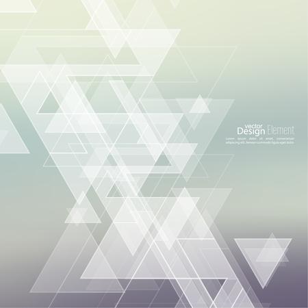Abstracte onscherpe achtergrond met hipster driehoeken. Driehoek patroon achtergrond. Voor cover boek, brochure, flyer, poster, tijdschrift, cd cover ontwerp, t-shirt