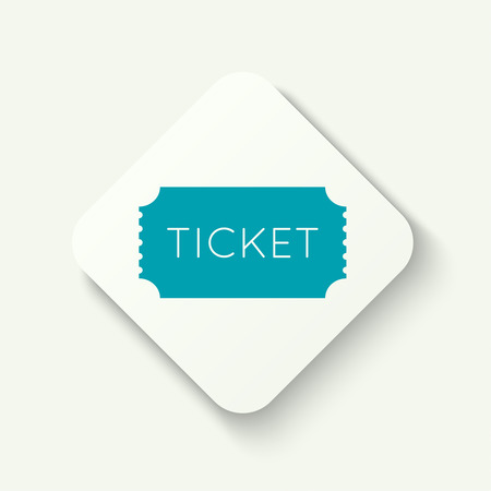 admit: Entry ticket. Admit one theater, cinema, zoo, swimming pool, fair, rides, swing, amusement park, carousel. icon for online booking of tickets. Web and mobile app. flat design
