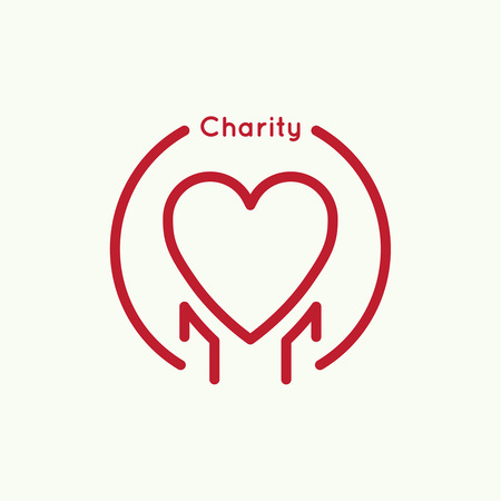 reliance: Abstract charity design template