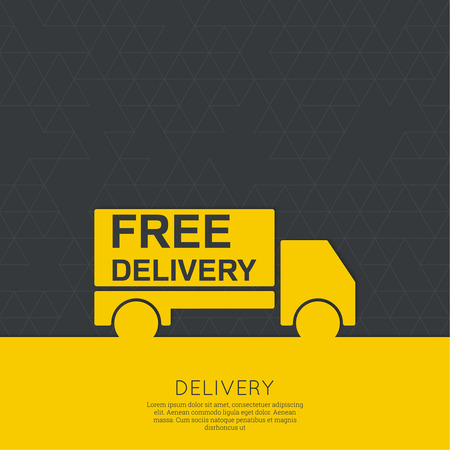 free sign: Freight transport