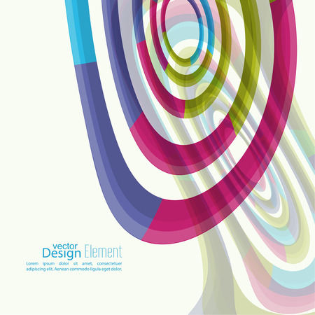 hypnotist: Abstract background with colored Hypnosis shape. For cover book, brochure, flyer, poster, magazine, booklet, leaflet, cd cover design, mobile app, annual report template. vector