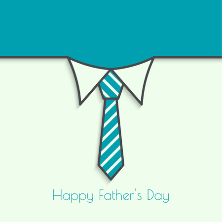 Abstract background with men ties. Happy Father Day. Shirt collar and necktie. For invitations to the celebration, birthday, postcard, wedding