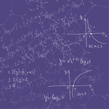 teorema: Fondo abstracto con las f�rmulas matem�ticas, c�lculos, gr�ficos, prueba, estructura de la mol�cula de ADN y la investigaci�n cient�fica. compuestos gen�ticos y qu�micos
