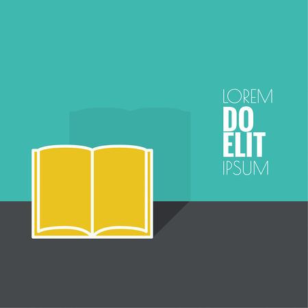 e magazine: Icon of an open book. minimal.