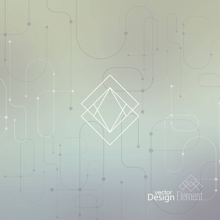 cd label: Abstract neat Blurred Background. Hipster Geometric shape, line and dot. Modern Signs, Label. For cover book, brochure, flyer, poster, magazine, cd, website, app mobile, annual report, T-shirt