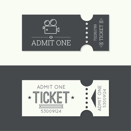 Entry ticket to old vintage style. hipster . Admit one theater, cinema, zoo, swimming pool, fair, rides, swing, amusement park, carousel. icon for online booking of tickets. Web and mobile app