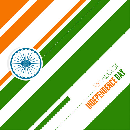 26: Abstract background with the symbol of India. The tricolor flag forfor Indian Republic day and Independence Day.