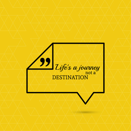 Inspirational Quote Life Is A Journey Not A Destination Wise Gorgeous Wise Quote About Life