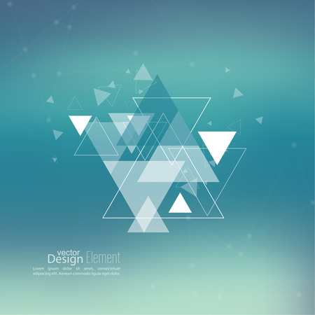 Abstract blurred background with hipster triangles. Triangle pattern background. For cover book, brochure, flyer, poster, magazine, cd cover design, t-shirt