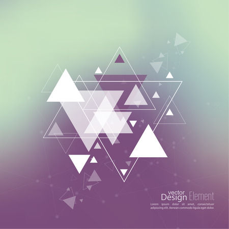 cd cover: Abstract blurred background with hipster triangles. Triangle pattern background. For cover book, brochure, flyer, poster, magazine, cd cover design, t-shirt