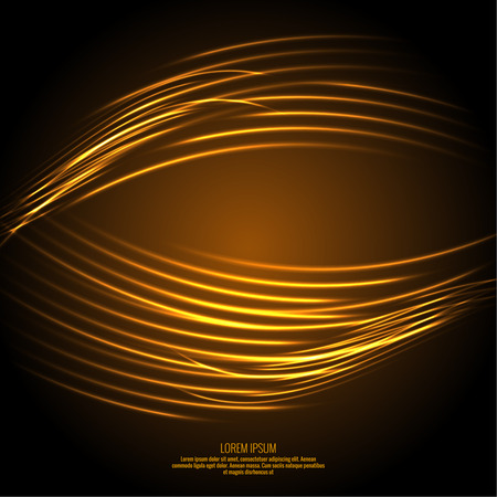 spin: Abstract background with luminous swirling backdrop. Intersection curves. Glowing spiral. The energy flow tunnel. Fire circles. Vector Illustration