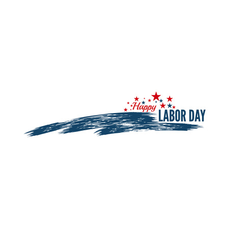 labor: Labor day banner. National Day of the United States of America