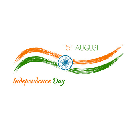 constitution: Abstract background with the symbol of India. The tricolor flag forfor Indian Republic day and Independence Day.