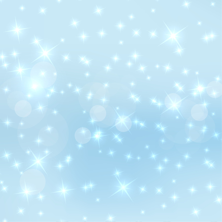 miraculous: Abstract blurred vector background with sparkle stars. For decorations for Merry Christmas, New Year, anniversaries, festivals, birthday, xmas, glamour holiday, illuminated, celebration. pastel