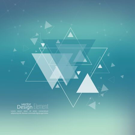 flyer background: Abstract blurred background with hipster triangles. Triangle pattern background. For cover book, brochure, flyer, poster, magazine, cd cover design, t-shirt